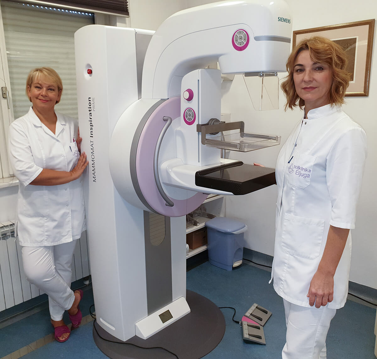 U Poliklinici moguće obaviti tomosintezu dojki (3D mamografiju) na novom digitalnom mamografu